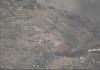 لحظة احتراق مخزن أسلحة سعودية بنجران بقذيفة بي عشرة
